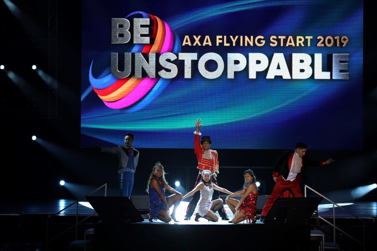AXA 500 FLYING START 2019