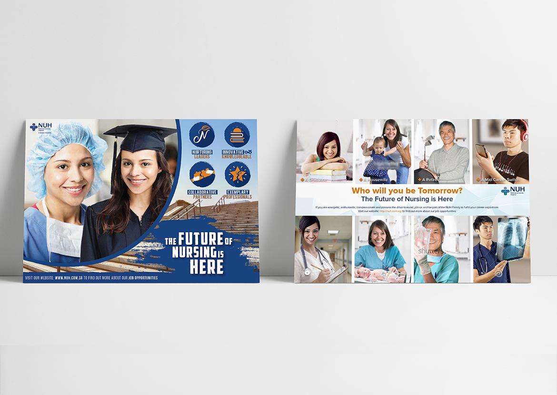 NUH Rebranding/ Recruitment Campaign 2016