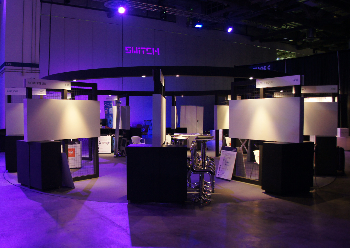 SWITCH 2017 Booth Design