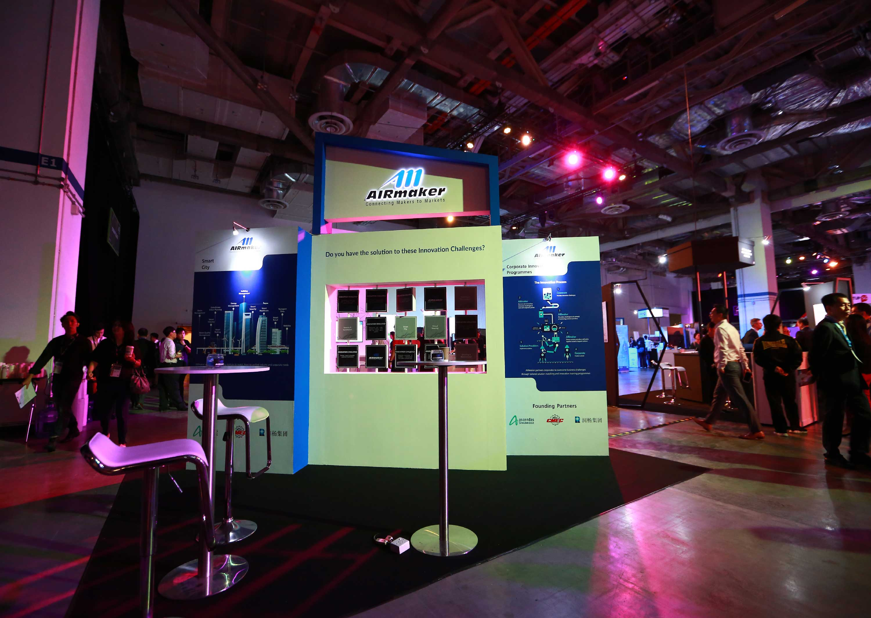 SWITCH 2018 AIRMAKER BOOTH
