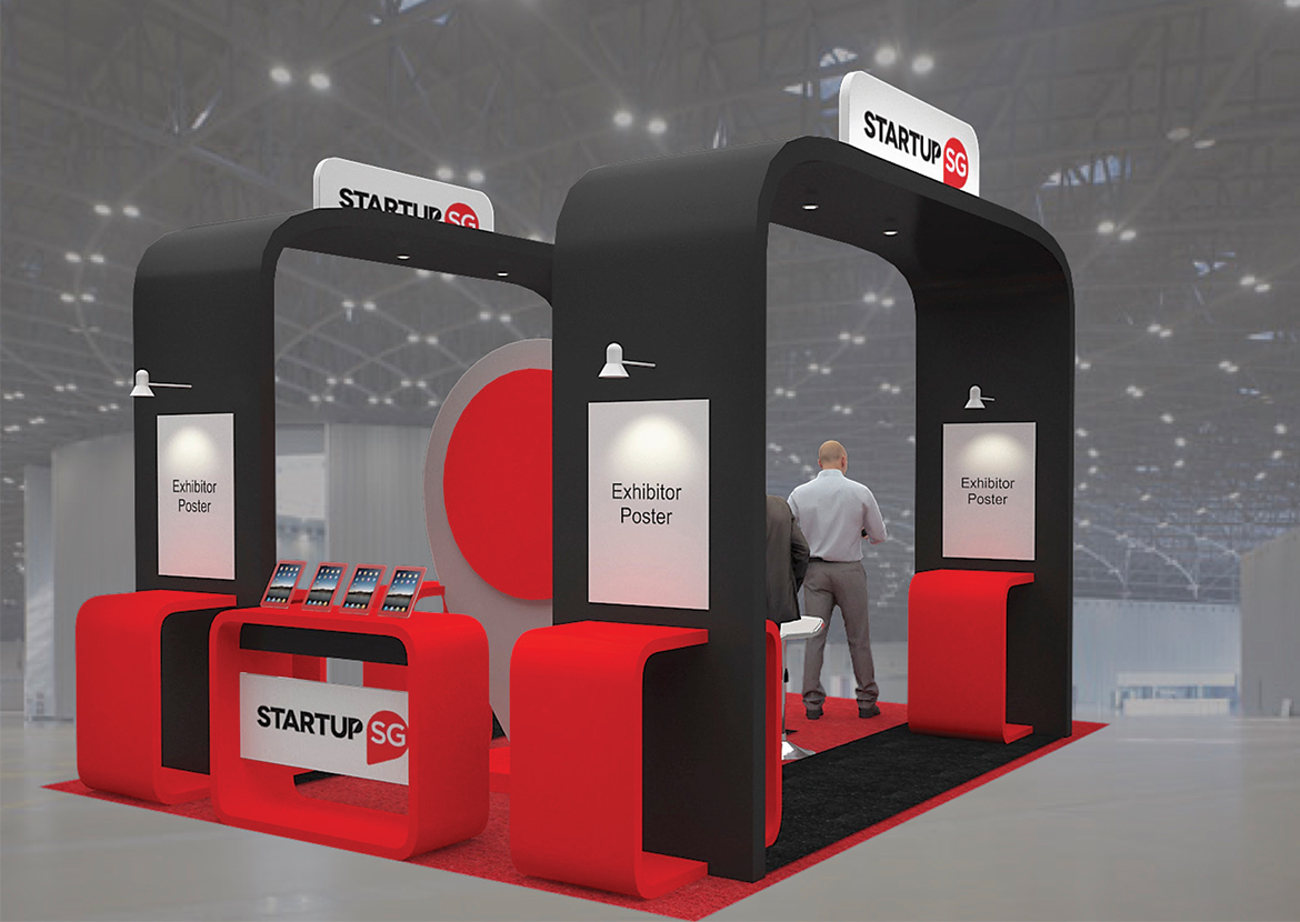 SWITCH 2018 STARTUP SG BOOTH